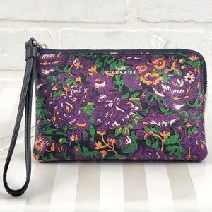 Coach Rose Meadow wristlet